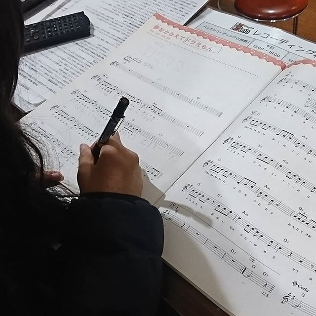 引山店です!今日はちびっこと楽譜のお勉強です! #スタジオ #リハーサルスタジオ #名古屋 #千種区 #名東区 #守山区 #尾張旭 #瀬戸 #レコーディングスタジオ #リハスタ #引山 #バンド #音楽 #音楽好きな人と繋がりたい #楽器店 #楽器修理
